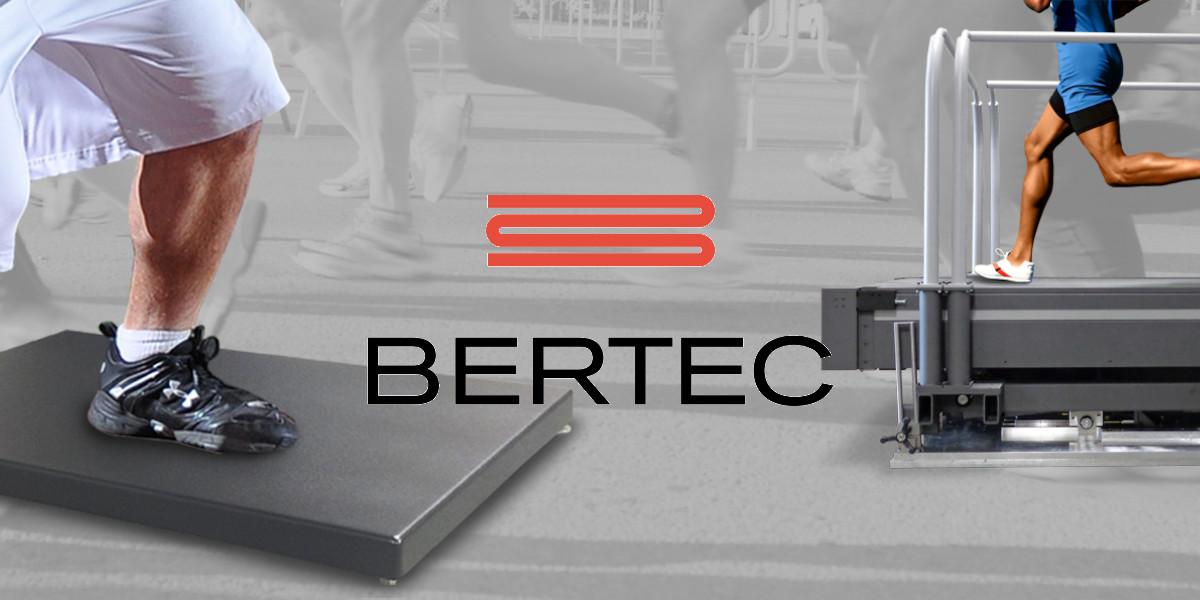 Bertec force plates